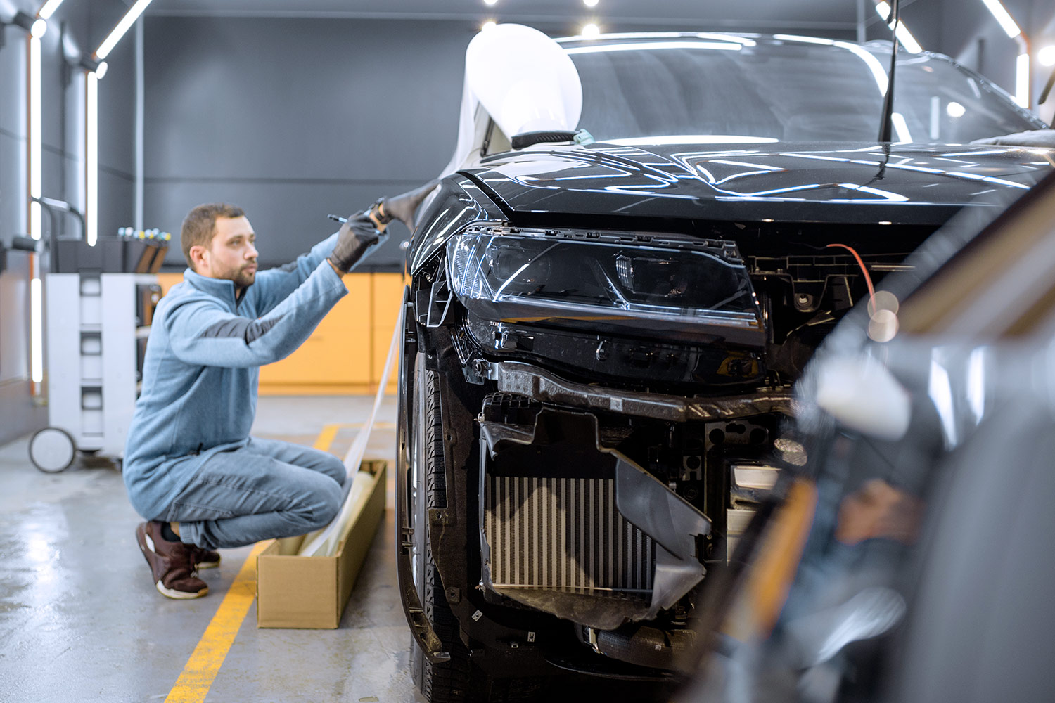 Car Painters to work in Norway for bodywork department